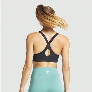 Gymshark Intimates & Sleepwear - NWT Gymshark Zip up medium support sports bra SML